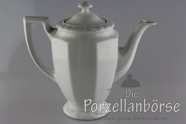 Kaffeekanne 18 cm - Rosenthal - Maria weiß
