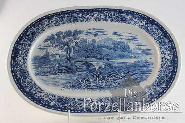 Fleischplatte 40,5 cm - Villeroy & Boch - Blue Castle