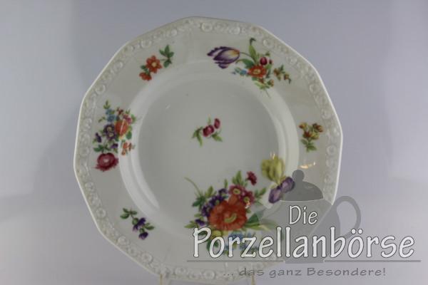 Suppenteller - Rosenthal - Sommerstrauß