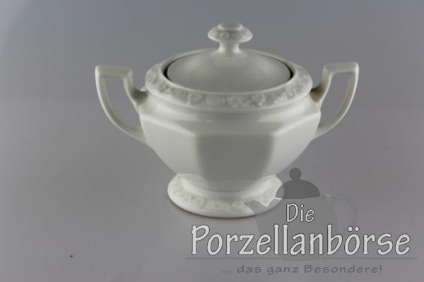 Zuckerdose 8 cm - Rosenthal - Maria weiß