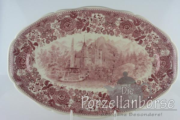 Fleischplatte groß - Villeroy & Boch - Burgenland rot